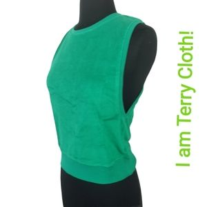 American Apparel Muscle Shirt Terry Cloth